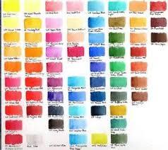 Schmincke Watercolor Chart Bing Images Watercolor