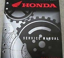 honda rincon service manual honda rincon 650 4x4 oem atv service repair manual new
