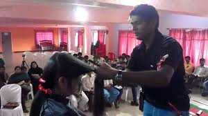 Feather Step Layer Cut Technique Mahesh Hyderabad India Youtube