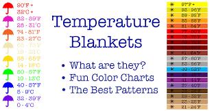 Temperature Blanket How To Make A Crochet Temperature