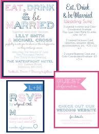 eat drink and be married wedding invitations, navy and pink Affordable Wedding Invitations Columbus Ohio eat drink and be married wedding invitations, navy and pink wedding invites, modern wedding invites, affordable wedding invitations from party box Wedding Cakes Columbus Ohio