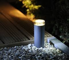techmar linum bollard outdoor light