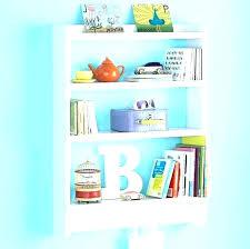 wall mounted kids bookshelf hanging bookshelves tutorial