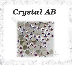 Broušené Kamínky Crystal Ab Ss3 100ks