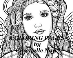 Small Picture Morgana Coloring page woman face adult coloring picture