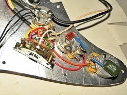 squier california series strat shielding job squier talk forum closer view of the pickguard wiring