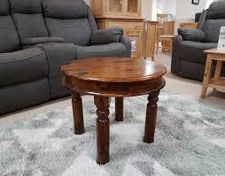 maharajah round coffee table
