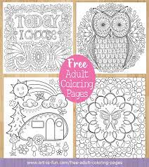With these art therapy coloring pages galleries, you can enjoy hours of relaxation. Free Adult Coloring Pages Detailed Printable Coloring Pages For Grown Ups Art Is Fun