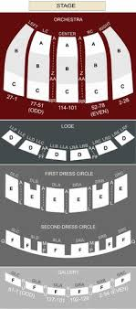 seating chart for fabulous fox theater atlanta ga color coded map of the seating plan with important seating information