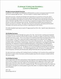 Football Coaching Resume Template Football Coachsumessume Template Cover Letter Sample