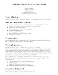 Entry Level Business Analyst Resume Inspirational Entry Level