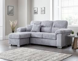 lucinda home small chaise fabric sofa