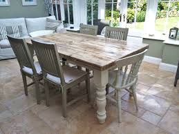 cute shabby chic dining table and chairs