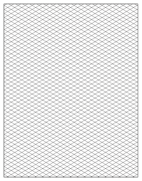Free Isometric Paper Free isometric graph paper to print 1