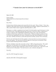 Sample Research Cover Letter Irb Cover Letter Samples Zlatan Fontanacountryinn Com