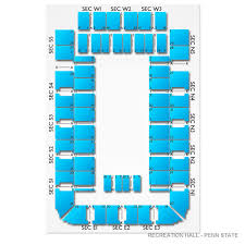 Recreation Hall Penn State 2019 Seating Chart