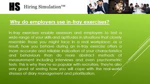 in tray exercises interview examples tips more video in tray exercise