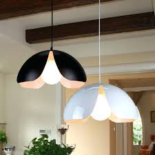 details about modern flower style metal home bar ceiling light pendant lamp shade large white