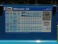 Aluminum Mig Welding Settings Chart Millermatic 210 Mig Welder Off Road Com