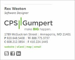 Company Email Signature Email Signature Design Layout And Content Sitepoint