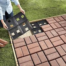 simple brick patio designs. Patio Pal Quick Brick System From Through The Country Door® Or Use IKEA Wooden Squares! Simple Designs E