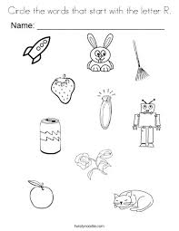 Letter R Coloring Page Pages For Y Free Betterfor