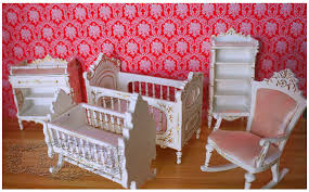 wooden baby doll furniture