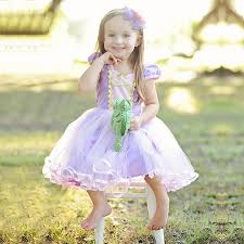 <b>Girls Princess Sofia</b> Dress Toddlers Rapunzel Role Play Costume ...