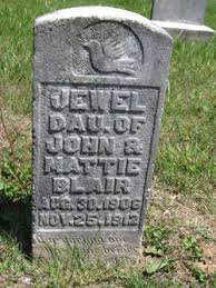 Jewell Blair (1906-1912) - Find A Grave Memorial