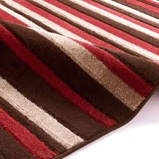 striped rugs in brown red matrix mt22 brown red