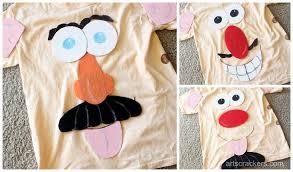 mr potato head costume funny faces