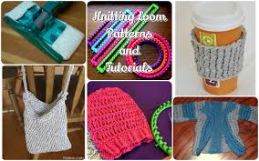 Loom Knit Patterns Mesmerizing Loom Knitting Patterns And Tutorials