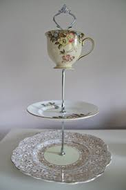 Diy Plate Display Stand Beauteous 32 Best Images About DIY CAKE PLATE STANDS On Pinterest Diy Plate