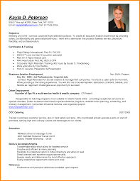 Resume For A Flight Attendant Free Resume Example And Writing