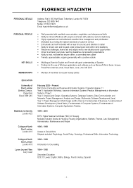 Resume Sample Modern Resume