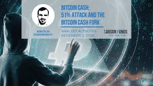 Bitcoin strength is, it have solution to avoid double spending, and with 51% attack double spending is possible. Bitcoin Cash 51 Attack And The Bitcoin Cash Fork Sarson Funds Cryptocurrency Blockchain Investment Funds