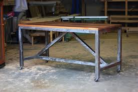 dining table frame steel