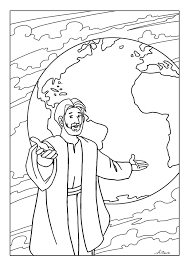Free Coloring Pages The Great Commission Youth Ministry Sunday