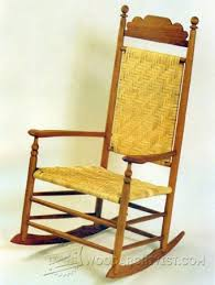 Classic Rocking Chair Plans WoodArchivist