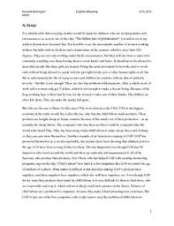 essay about globalization aspects of globalization essay og email   studienetdk aspects of globalization essay og email