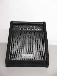simmons amp. simmons da50 drum monitor/amp amp