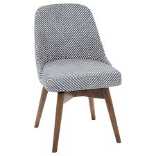 mid century office chair. buywest elm mid-century office chair, gravel stripe online at johnlewis.com mid century chair n