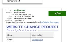 Website Change Request Form | Css-Tricks