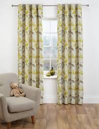 Living Room Ready Made Curtains Yellow Ready Made Curtains Gold Lemon Eyelet Curtain Ms