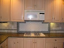 Glass Tile Kitchen Backsplash Designs Cool Inspiration Design