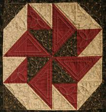 Civil War Quilts: 1 Catch Me If You Can & This lively block stitched of only one triangular pattern piece captures  the cleverness the adventure required. Adamdwight.com