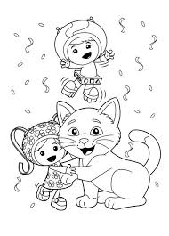 Small Picture Milli is Kitten Love in Team Umizoomi Coloring Page Color Luna