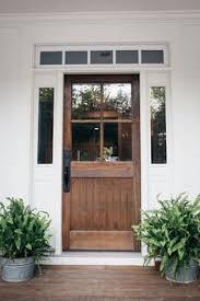 clic wooden front door