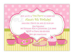 invitation for a party tea party invitation theruntime com