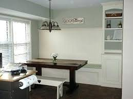 breakfast banquette furniture. Kitchen Banquette With Storage Built In Dining Bench White Breakfast Nooks Curved Furniture